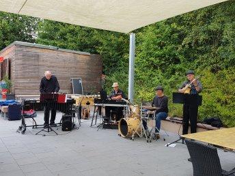 Jazz im Bad mit der Band Mojo Vibes am 1.9.2019