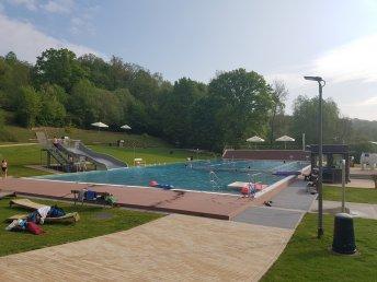 1. Mai - Anschwimmen