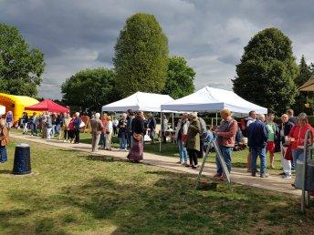Sommerfest 2018: Trotz des kühlen und teilweise feuchten Wetters kamen fast 400 Besucher.